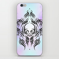 Alien Tribal Tattoo iPhone & iPod Skin by Chobopop