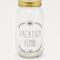 Hibiscus Vacation Fund Mason Jar Bank | Free Spirit | rue21