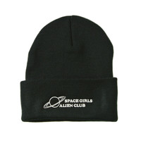 Space Girls Alien Club Beanie