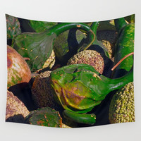 Autumn Squash Wall Tapestry by Theresa Campbell D'August Art