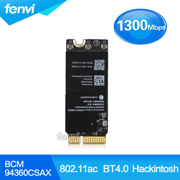 """Airport Wireless Wifi Bluetooth card for Macbook Pro BCM94360CSAX 802.11AC BT 4.0 RMBP 653-0029 Retina A1502 13"""" 15"""" Year 2013"""
