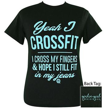 Girlie Girl Originals Preppy Yea I Crossfit T-Shirt