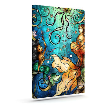 "Mandie Manzano ""Under the Sea"" Mermaids Canvas Art"