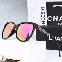 Chanel Stylish Women Men Personality Sunglasses Sun Shades Eyeglasses Glasses I-A-SDYJ