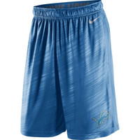 Detroit Lions Nike Fly Warp Performance Shorts – Light Blue
