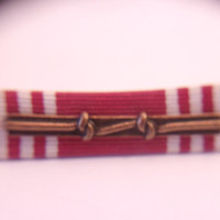 Military Bar Ribbon Striped Cloth Commendation Award US Service Armed Forces