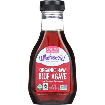 Wholesome Sweeteners Blue Agave - Organic - Raw - 11.75 Oz - Case Of 6