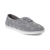 Womens Roxy Jetty Crochet Casual Shoe, Gray  Journeys Shoes