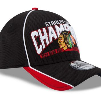 Chicago Blackhawks 2015 Stanley Cup Champions 39Thirty Flex Fit Cap