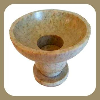 Soapstone Universal Candle Holder