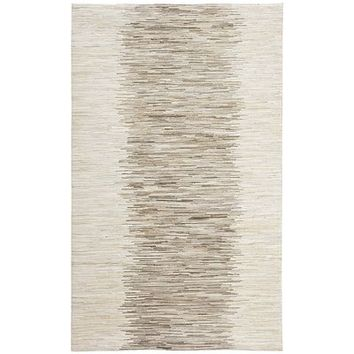 Cowhide Ombre Gray Rug