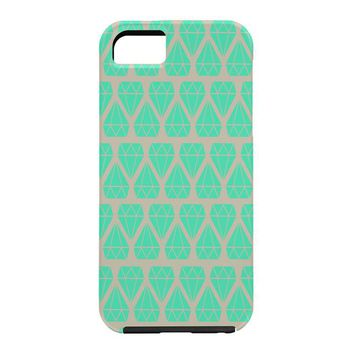 Allyson Johnson Mint Diamonds Cell Phone Case