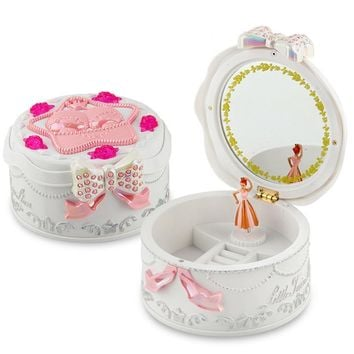 Carousel Musical Boxes Toy With Rotating Doll