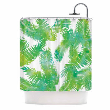 Draper Tropic Summer Green Nature Shower Curtain