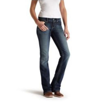 Ariat Ladies Real Boot Cut Spitfire Jeans