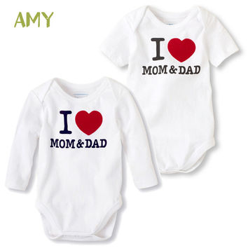 Summer style Baby Clothes Carter Newborn Short Sleeve Cotton baby Rompers Girls Boys Clothes roupas de bebe infantil costumes