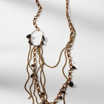 Circled Chains Necklace