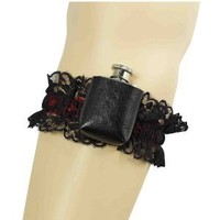 Roaring 20's Deluxe Garter with Flask