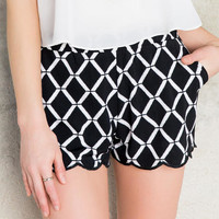 Karmen Printed Shorts