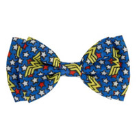 DC Comics Wonder Woman Logo Hair Bow