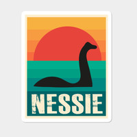 Nessie Sticker By AndyWestface Design By Humans