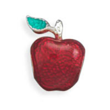 Red and Green Apple Bead