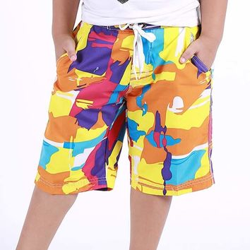 2018 Hot 8/10/12/14/16 Years Old Kid Boy's Baby Boy Clothes Surf Board Shorts Beach Swim Children Summer Sport Trunks Short