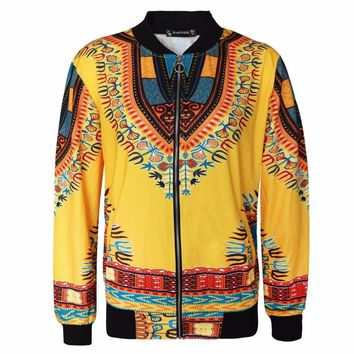 Trendy DARSJUCBD 2018 New Vintage Printed Womens Jacket Coat Indie Folk Dashiki African Bomber Jacket L XL XXL XXXL 4XL 5XL AT_94_13