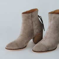 Chad Grey Suede Bootie