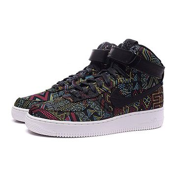Nike Air Force 1 Bhm Af1 836227-001 Black For Women Men Running Sport Casual Shoes Sneakers