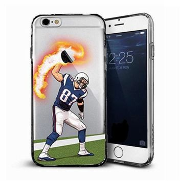 Rob Gronkowski New England Patriots Case Cover For Iphone 5 6 7 8 Plus Apple NFL