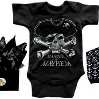 Punk Rock Baby Clothes, Skull Onesuits, Cool Toddler Apparel, Tattoo Diaper Bags, Punk Rock Maternity, Rock Tutus, Punk Baby Gifts, Dresses, Trendy Infant Hats