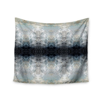 "Pia Schneider ""Heavenly Abstraction l"" Blue Digital Wall Tapestry"