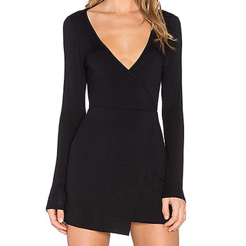 Clayton Bree Dress in Black