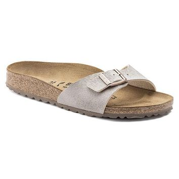 Best Online Sale Birkenstock Madrid Birko Flor Animal Fascination Mud 1006664 Sandals