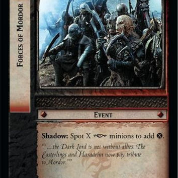 Lord of the Rings TCG - Forces of Mordor - Fellowship of the Ring
