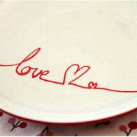 diy :: using porcelain paint pens | going home to roost