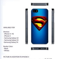 retro Superman Logo Case For iPhone 4/4S iPhone 5 Galaxy S2/S3/S4