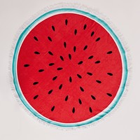 Missguided - Watermelon Towel Red