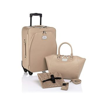 Joy Mangano St. Tropez Chic Carry-On Luggage Set with Handbag! | HSN