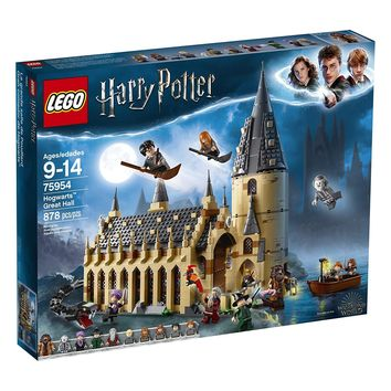 Lego Harry Potter Hogwarts Great Hall 75954 10 Minifigures Pieces 878 New