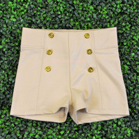 Portsmouth Beige Sailor Shorts
