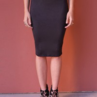 West Coast Wardrobe  Jolene Skirt in Black