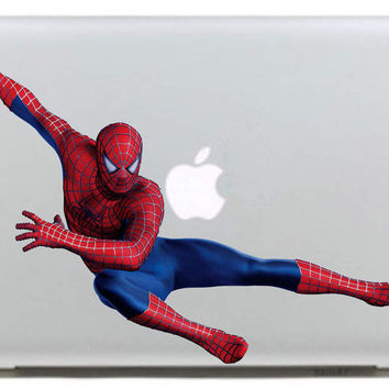 Leap Spiderman Vinyl Decal Sticker for Apple Macbook Pro / Air 11 13 15 Inch Laptop Case Cover Sticker