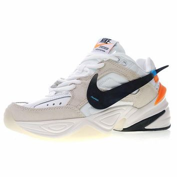 "Off white x Nike Air Monarch the M2K Tekno ""OW WHITE"" Retro Sneaker AO3108-110"