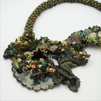 The Depths by BeadazzledofOregon on Etsy