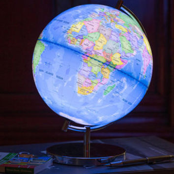 Light Up Globe Of The World