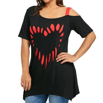 Womens Plus Size 5XL Summer Tops and Blouses