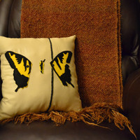 Paramore Brand New Eyes Pillow by amillionlittlestars on Etsy