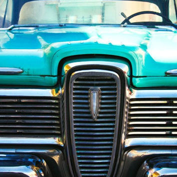 Ford Edsel Classic Car Photo - Automobile Decor - Photography